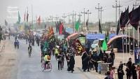 Yabancı Ziyaretçiler Kerbela'ya gitmek için İran güzergahını seçiyor