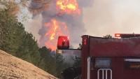 ABD'da gaz boru hattında patlama