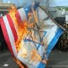 Londra'da terör rejimi İsrail protesto edildi