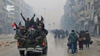 Halep teröristlerden tamamen temizlendi