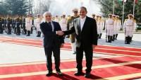 Suriye Başbakanına Cihangiri Tarafından Resmi Karşılama Töreni