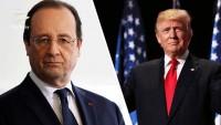 Trump ile görüşen Hollande: KOEP'e saygı gösterilmelidir