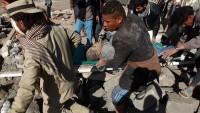 Suudi savaş uçakları, Yemen'i  bombalamaya devam ediyor