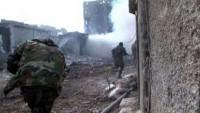 Suriye ordusu Ayn Fice köyüne girdi