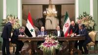 İran ile Suriye arasında 5 işbirliği anlaşması imzalandı