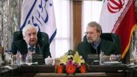 Laricani: İran Suriye'de direnişin her zaman yanında olacaktır