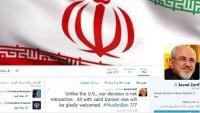 Zarif: İran Amerikan halkını kabul ediyor