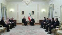 Ruhani: İran Belarus ile ilişkilerin geliştirilmesini olumlu karşılıyor