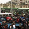 İlk silahlı grup, Suriye'nin batısından çekildi