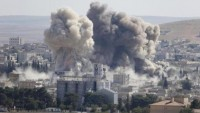 Katil Amerika'nın Suriye saldırısında onlarca sivil öldü