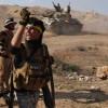 Irak halk güçleri, IŞİD mevzilerini vurmaya devam ediyor