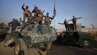 Irak güçleri, Suriye sınırlarına kadar ilerledi
