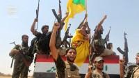 Haşdi şaabi, IŞİD terör örgütünün mevzilerini füzelerle vurdu