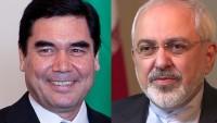İran Dışişleri Bakanı Zarif, Türkmenistan Cumhurbaşkanı ile görüştü