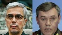 İran ve Rusya genel kurmay başkanları arasında görüşme