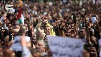 Filistinliler Abbas karşıtı gösteri yaptı