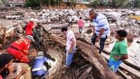 İran Kolombiya ve Endonezya'da selzedelerle dert ortaklığında bulundu