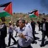Gazze'de Filistinli esirlerle dayanışma gösterisi