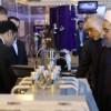 İran Cumhurbaşkanı Ruhani'nin katılımıyla yeni bazı nükleer kazanım tanıtıldı