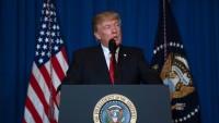 Siyonist Köpek Trump: Suriye'ye gerekirse yeniden saldırırız