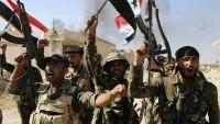 Tedmur'un Güneyinde Bulunan Birkaç Bölge Daha IŞİD'den Kurtarıldı