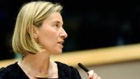 Mogherini: Avrupa ve Amerika KOEP karşısında sorumluluk duymalılar