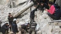 Katil Amerika'nın Rakka'ya saldırısı sonucu 6 sivil hayatını kaybetti