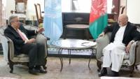 BM genel sekreteri ve Afganistan cumhurbaşkanı arasında görüşme