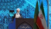 Tahran Cuma imamı: İran'ın bilimsel ilerlemesi, batıyı endişelendiriyor