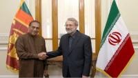 Sri Lanka Meclisi Başkanı, İran Meclis Başkanı Laricani ile görüştü