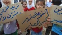 Fua ve Keferya halkının protestoları devam ediyor