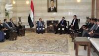 Emir Abdullahiyan: İran Suriye'nin yanında durmaya devam edecek