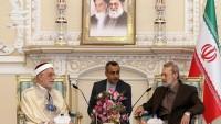 İran Meclis Başkanı Tunus ve Gana meclis başkanları vekilleri ile görüştü