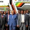 Zimbabve cumhurbaşkanı, Hizbullah ve Filistin temsilcileri Tahran'a geldiler