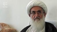 Ayetullah Nuri Hamedani: Müslümanlar birlik olmazsa Filistin İslam dünyasından kopar