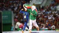 Asya Salon ve Dövüş Sanatı Oyunlarında İranlı Bayan Güreşçi Altın Madalya Kazandı