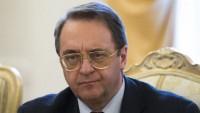 Bogdanov: İran, Rusya ve Türkiye temsilcileri Cenevre'de De Mistura ile buluşacak