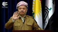 Mesut Barzani istifasını Yerel Parlamento'ya sundu