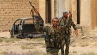 Suriye Ordusunun teröristlere karşı başarılı operasyonları devam ediyor