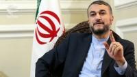 Emir Abdullahiyan: Suriye ve bölgeyi savaşa sürükleyenler takatten düştüler