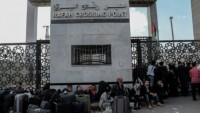 Refah Kapısı'nın idaresi Hamas'ta