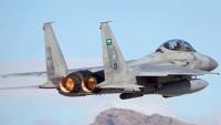 Arabistan savaş uçakları Yemen savunma bakanlığını bombaladı
