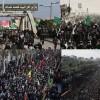 İran Erbain yürüyüşü merasiminin güvenliğini radar ve füze savar sistemle sağlıyor