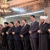 Suriye'de mevlit Kandili cumhurbaşkanı Beşar Esad'ın katılımıyla kutlandı