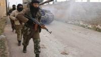 Suriye ordusu, İdlip'in çevresinde teröristlerin mevzilerini bombaladı