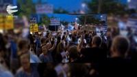 Tel Aviv'de Netanyahu yolsuzluklardan dolayı protesto edildi