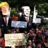 Belçika'da Trump'ın Kudüs Kararı Protesto Edildi