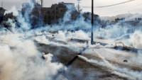İşgal rejimi Filistinli göstericilere karşı zehirli gaz kullandı