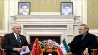 Laricani: İran ve Türkiye'nin güvenlik konularında işbirliği zaruridir