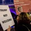 İsviçre'nin Başkenti Zürih'te ABD Başkanı Trump'ı protesto için iki bin kişi sokağa indi